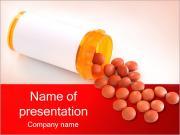 錠剤やボトル PowerPointプレゼンテーションのテンプレート