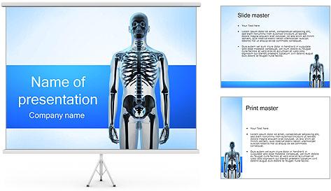 Human Skeleton PowerPoint Template