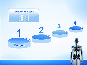 Human Skeleton PowerPoint Templates - Slide 7
