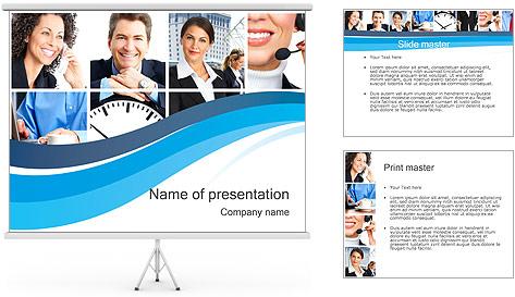 Empresarios Plantillas de Presentaciones PowerPoint