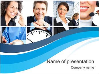 Empresarios Plantillas de Presentaciones PowerPoint - Diapositiva 1