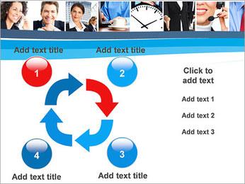 Empresarios Plantillas de Presentaciones PowerPoint - Diapositiva 14