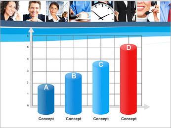 Empresarios Plantillas de Presentaciones PowerPoint - Diapositiva 21