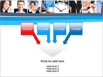 Empresarios Plantillas de Presentaciones PowerPoint - Diapositiva 8