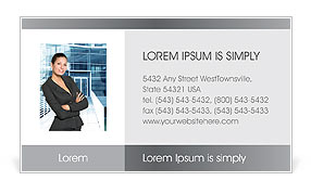 Business Presentation Business Card Templates