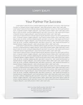Business Presentation Letterhead Template