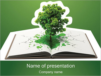 Education Tree PowerPoint Template