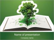 Education Tree PowerPoint Templates