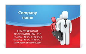 Business Group Business Card Template