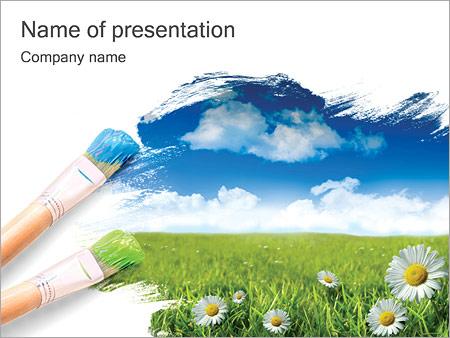 Summer Powerpoint Template Backgrounds Google Slides Id