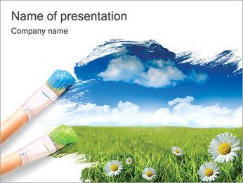 Summer PowerPoint Template