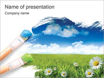 Verão Modelos de apresentações PowerPoint