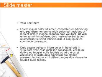 Plano de Arquitetos Modelos de apresentações PowerPoint - Slide 2