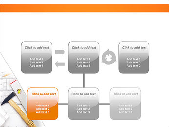 Plano de Arquitetos Modelos de apresentações PowerPoint - Slide 23