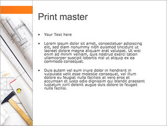 Plano de Arquitetos Modelos de apresentações PowerPoint - Slide 24