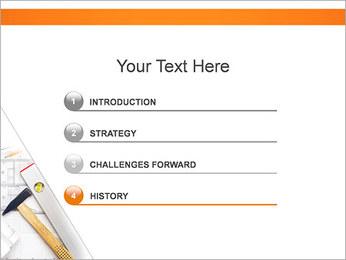Plano de Arquitetos Modelos de apresentações PowerPoint - Slide 3