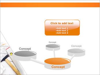 Plano de Arquitetos Modelos de apresentações PowerPoint - Slide 9