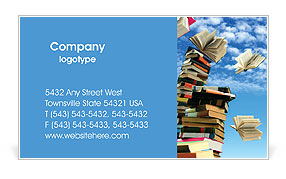Knowledge Business Card Template