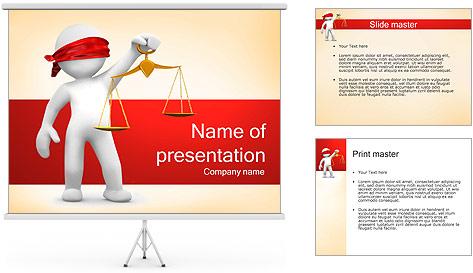 Juiz Modelos de apresentações PowerPoint