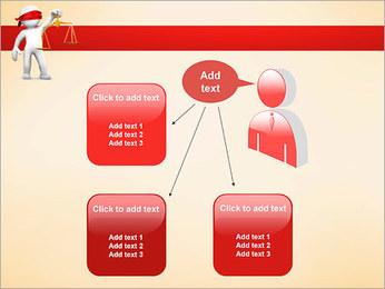 Juiz Modelos de apresentações PowerPoint - Slide 12
