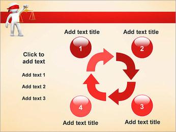 Juiz Modelos de apresentações PowerPoint - Slide 14