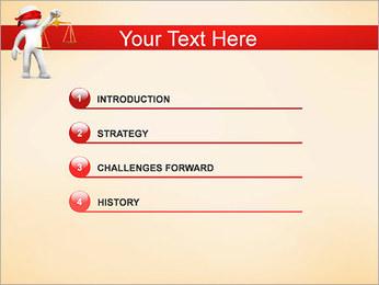 Juiz Modelos de apresentações PowerPoint - Slide 3