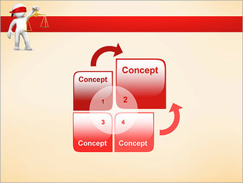 Juiz Modelos de apresentações PowerPoint - Slide 5