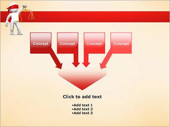 Juiz Modelos de apresentações PowerPoint - Slide 8