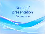 Blue Wave PowerPoint presentationsmallar