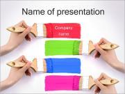 Brush Strokes PowerPoint Templates