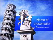 Leaning Tower of Pisa PowerPoint Templates