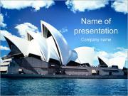 Sydney Opera House PowerPoint Templates