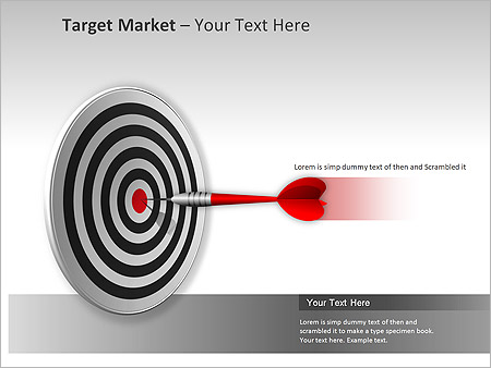Target Market PPT Diagrams & Chart