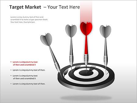 Target Market PPT Diagrams & Chart - Slide 10