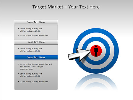 Target Market PPT Diagrams & Chart - Slide 14