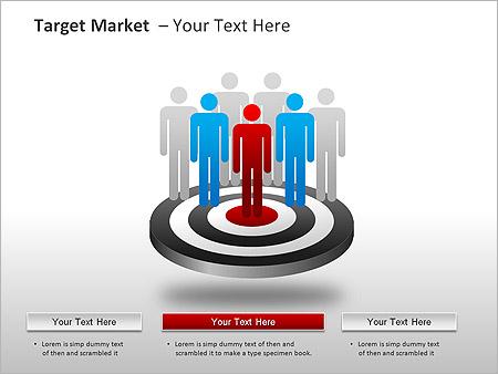 Target Market PPT Diagrams & Chart - Slide 16
