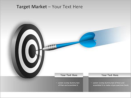 Target Market PPT Diagrams & Chart - Slide 2