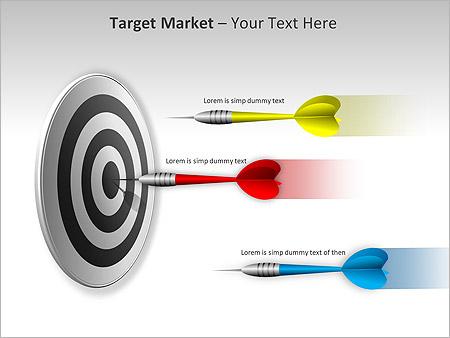 Target Market PPT Diagrams & Chart - Slide 3