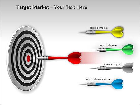 Target Market PPT Diagrams & Chart - Slide 4