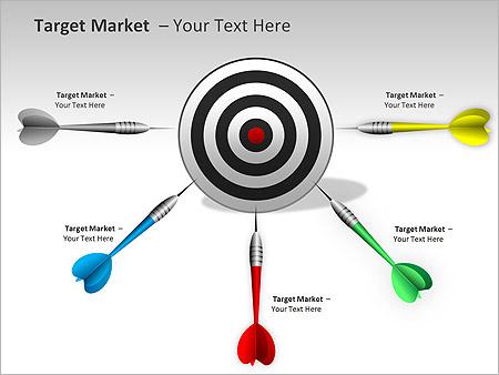 Target Market PPT Diagrams & Chart - Slide 5