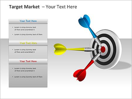 Target Market PPT Diagrams & Chart - Slide 6