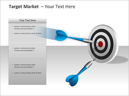 Target Market PPT Diagrams & Chart - Slide 7