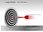Target Market PPT Diagrams & Charts - Slide 1