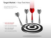 Target Market PPT Diagrams & Charts - Slide 10
