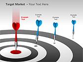 Target Market PPT Diagrams & Charts - Slide 13