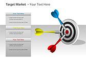 Target Market PPT Diagrams & Charts - Slide 6