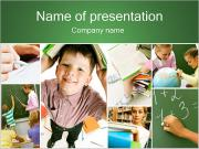 Školní výuka PowerPoint šablony