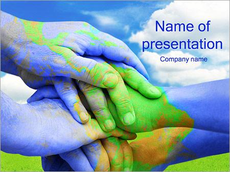 Green World PowerPoint Template