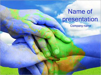 Green World Modèles des présentations  PowerPoint