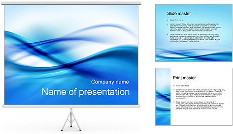 Abstract Composition PowerPoint Template